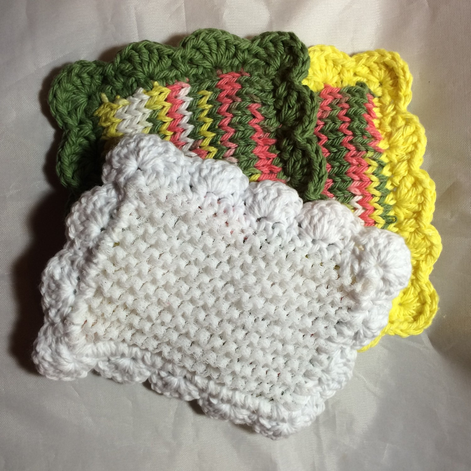 Knit Pattern Kitchen Scrubbies: Kitchen scrubbies and cloths to knit ...