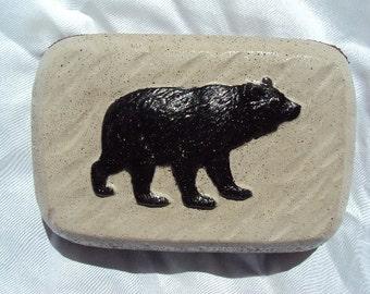 Bear, Door Stop, Cabin Decor, Country,  Rubber Bottom