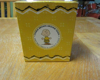 Charlie Brown Around Town Figurine Westland Giftware Original Packaging