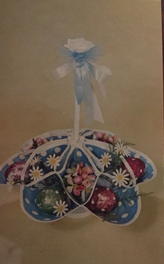 Vintage national handcraft fad of the month club craft kit for Craft of the month club