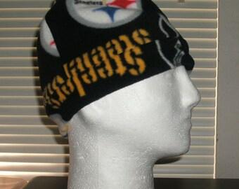 NFL Steelers Adult Fleece Beanie