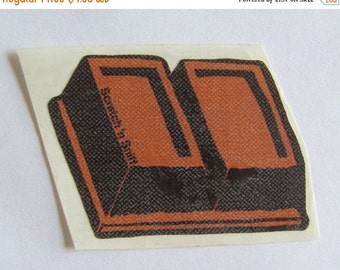 ON SALE Rare Vintage 3M Scratch and Sniff Chocolate Bar Sticker - 80's Collectable Cocoa Scented