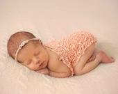 Newborn Headband and Crochet Wrap, Baby Wrap, Newborn Headband, Perfect for Photos, Photo Prop, Baby Headband, Newborn Props