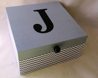 Large Keepsake Box - Memory Box - Large - Storage Box - Personalized Keepsake Box - Shower Gift - Gift Box - Gift