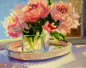 STILL LIFE COMMISSION, custom order, personalized painting, original art, painting by Cecilia Rosslee, birthday present