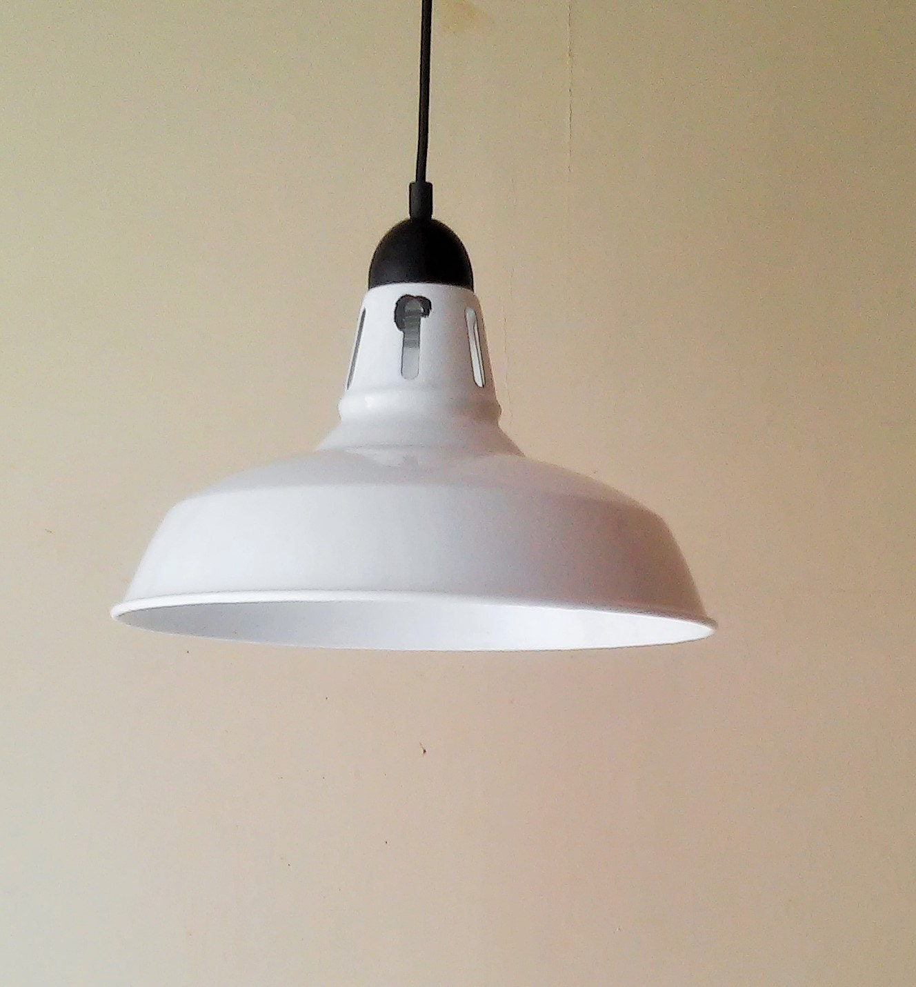 Industrial Pendant Light Enamel Pendant Light Farmhouse