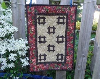 Fall Quilt,Churndash Wall Decorator Quilt 0908-01