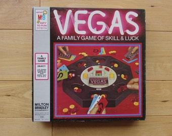 Milton Bradley 1973 Vegas Family Game