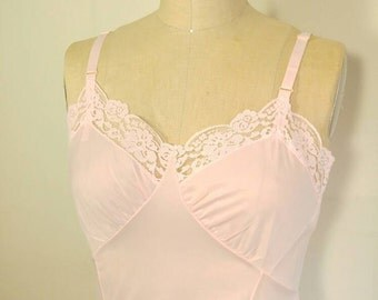 Pastel Pink Full Slip - 36