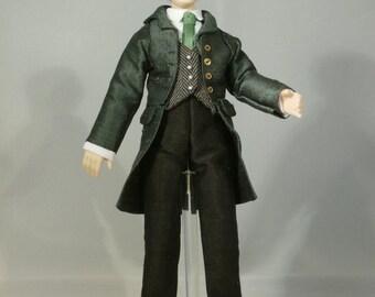 Dollshouse Miniature Doll DANIEL - OOAK Handcrafted 1/12 scale Male Doll