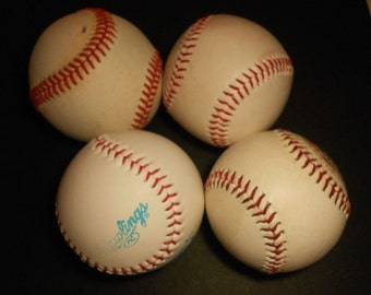 Old Baseballs......Used   Supplies