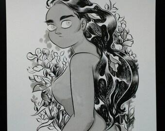 Barbs and Blossoms Original