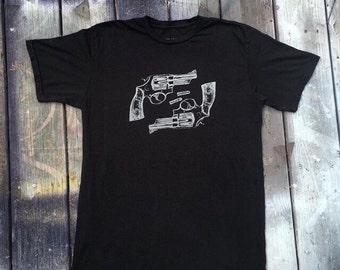 Black Wolff x Alchemy revolver shirt