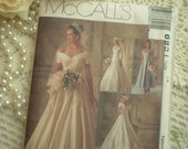 Vintage Chic Circa 1994 McCalls 6951 Designer Alicyn Exclusives Wedding Gown Size 14 From SincerelyRaven On Etsy