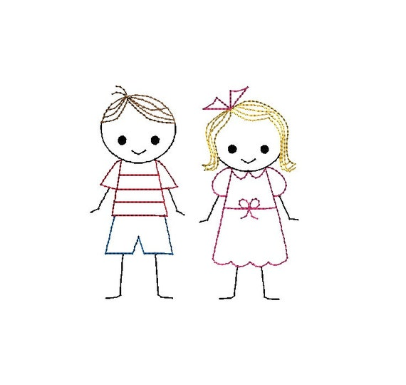 stick figure boy and girl pictures to pin on pinterest