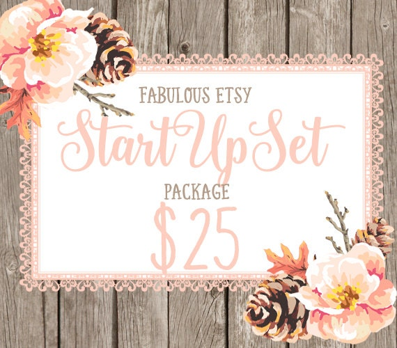 Custom Etsy Banner and Avatar,  Custom Blog Header for Blogs, OR Facebook Timeline Banner