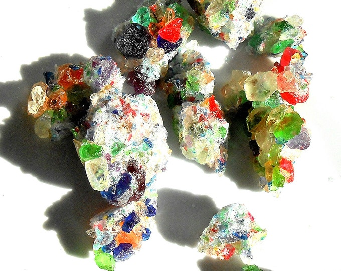 EDIBLE CANDY GEODES, Chunky Sprinkles, Cake Decorations, Multi Colors Colors, Unflavored, Crystal, Sparkle, Cupcake Sprinkle, Rock Candy,