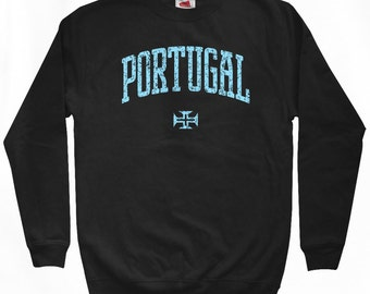 Portugal Sweatshirt - Men S M L XL 2x 3x - Portugal Shirt - Portuguese - 4 Colors