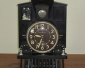 Train Engine Electric Desk Clock by GE