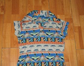 Rare Vintage 1970s Huckapoo Surf Bird Shirt