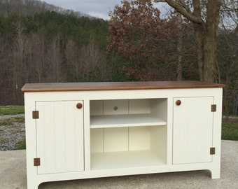 Media Console, Custom TV Stand, Customized Media Cabinet