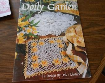 Doily Garden pattern book by Delsi Rhodes