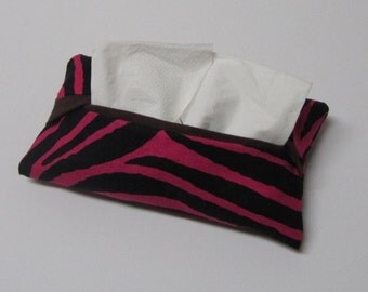 Pocket Tissue Cozy-Fabric Tissue Cover - Ready to Ship