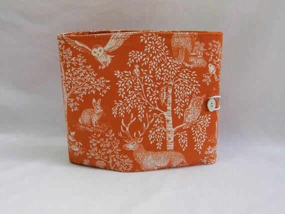 Circular Knitting Fabric : Circular knitting needle case woodland fabric by quincepie