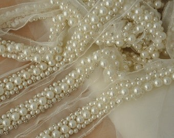 Rhinestone Trim for Wedding Sash, Bridal Belt,Jewelry Supplies