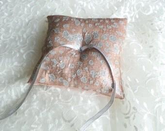 Sequin Ring Bearer Pillow - Sequin Wedding Ring Pillow - Sequin Wedding Decor