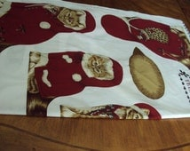 Christmas Cat and kittens draft excluder, door stopper decoration, Christmas gift