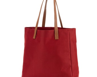 Monogrammed Gameday Totebag Garnet- Personalized Garnet Tailgate Tote - Embroidered Tote