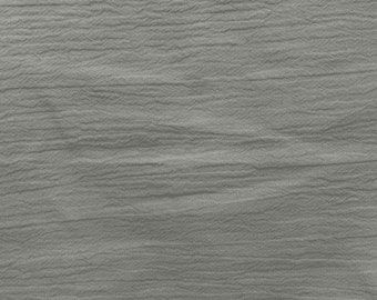 """54"""" Silver Grey Cotton Gauze Fabric-15 Yards Wholesale by the bolt"""