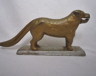 Vintage Dog Nutcracker