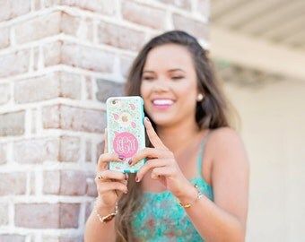 Lilly Paisley Custom Otterbox Commuter Case for iPhone 7, iPhone 7 PLUS, iPhone 6/6s PLUS, iPhone 6/6s, iPhone 5/5s/SE, Galaxy S7