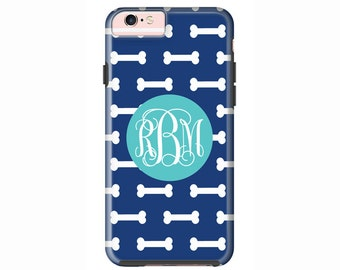 Custom iPhone 7 or iPhone 7 Plus Cases | Personalized Case Mate Tough or Barely There cases iPhone 6, iPhone 6 Plus  & More - Dog Bones