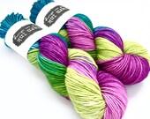 SALE | superwash {worsted} | ENCHANTED | ready to ship | hand dyed yarn | superwash merino