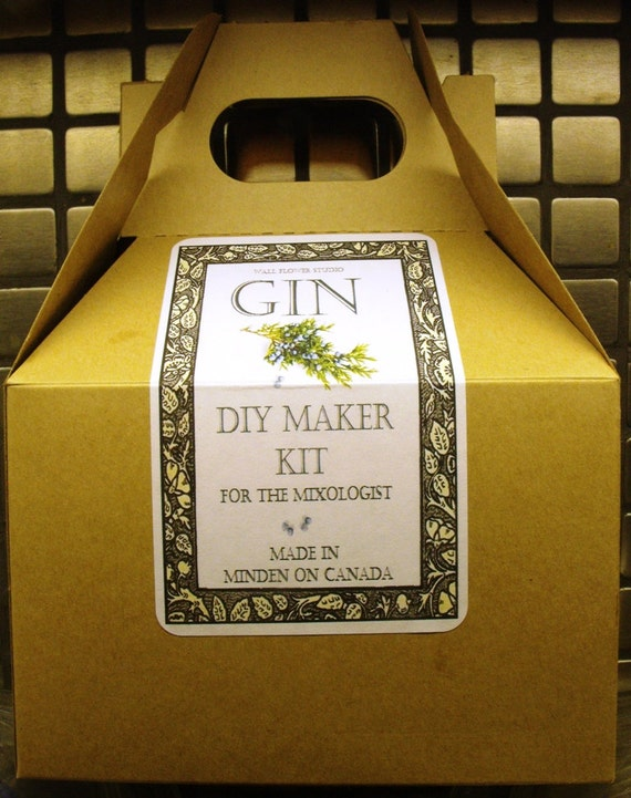 DIY Gin Kit - For the mixologist! Create your own or gift it to that ...