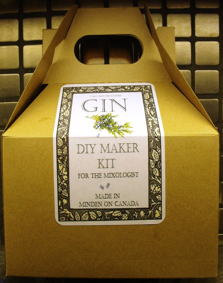 DIY Gin Kit For the mixologist The perfect for