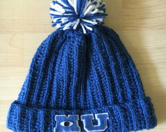 Monsters University beanie hat Baseball school Spirit Pixar Disney Mike Sully monsters Inc.