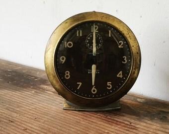 Old Westclox Big Ben Alarm Clock Antique Metal Tabletop Clock Non-Working For Display