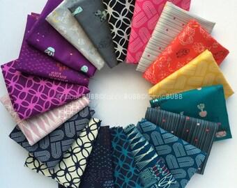 Macrame Fat Quarter Bundle by Rashida Coleman-Hale for Cotton and Steel Fabrics, COMPLETE