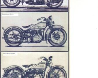 Harley Davidson Prints- Set of 3