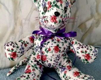 Memory Cat,Keepsake Cat,Memorial Cat,Handmade Custom Memory Cat