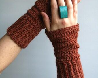 Crochet Pattern, fingerless mittens pattern, wrist warmer, gloves crochet pattern (227) toddler, child and adult
