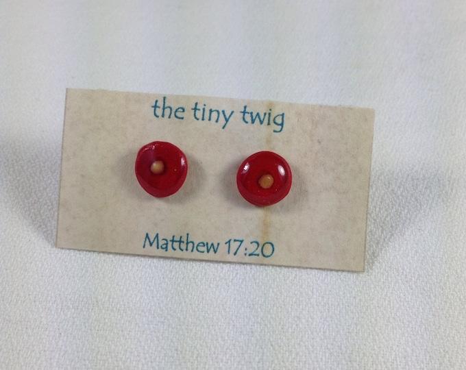 Mustard Seed Faith Post Earrings