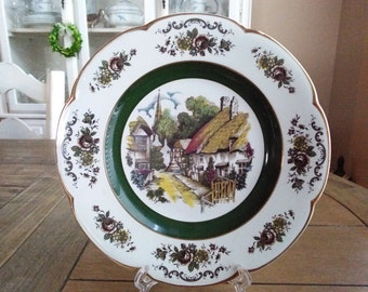 Ascot Service Plate Wood and Sons England Decorative Wall // Cabinet Plate