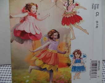 Fairy Costume Pattern by McCall's MP310 size CL (6,7,8)