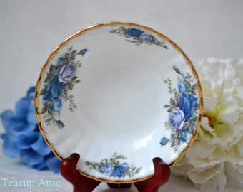 Royal Albert Moonlight Rose Fruit/Sauce Bowl, English Bone China Bowl, Replacement China, ca. 1987