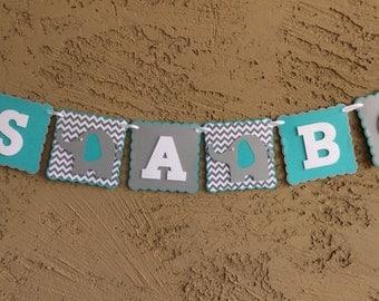 Baby Shower Elephant Banner.  Boy 0r Girl.  Gender Neutral. It's a boy. It's a girl, Baby Shower. Baby Girl. Baby Boy.